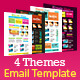 Artistic Store HTML Email Template (4 Themes) - ThemeForest Item for Sale