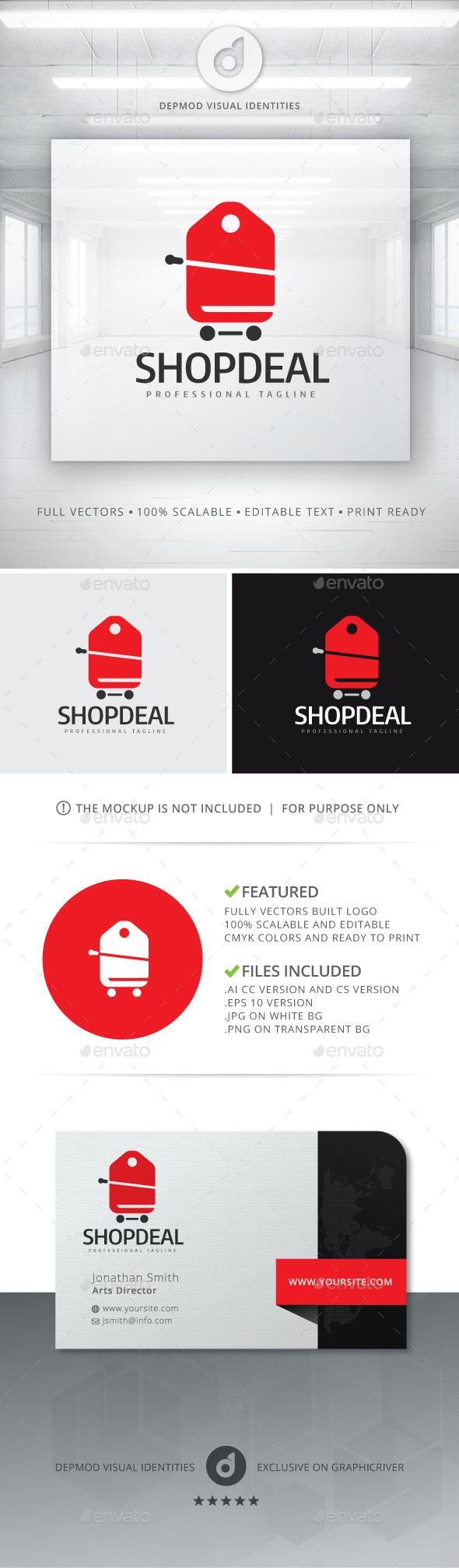 Shop Deal V.03 Logo