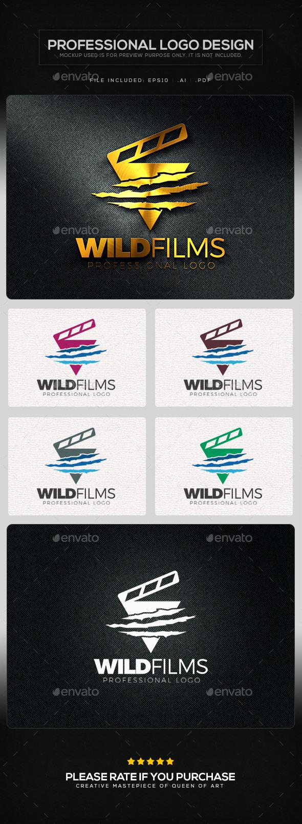 Wild Films Logo Template