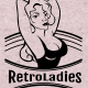 Retro Ladies Bages and Logos - GraphicRiver Item for Sale