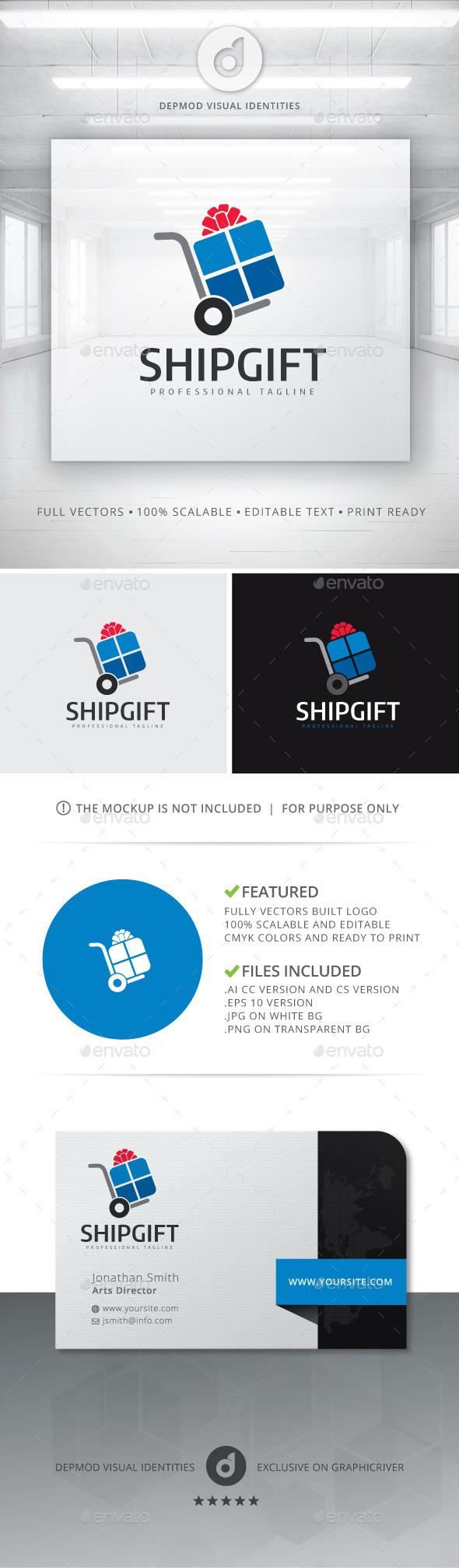 Ship Gift Logo