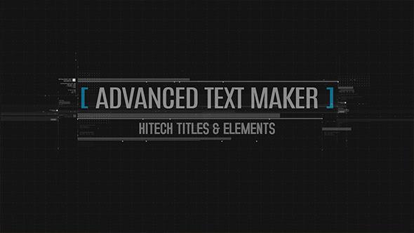 Advanced Text Maker