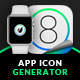 App Icon Generator 4 Style + Smartwatch - GraphicRiver Item for Sale