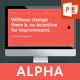 Alpha PowerPoint Template - GraphicRiver Item for Sale