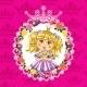Princess in Flower Frame  - GraphicRiver Item for Sale