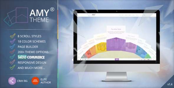 AMY - Creative Multi-Purpose WordPress Theme