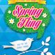 Spring Fling Festival Event Poster, Flyer or Ad - GraphicRiver Item for Sale