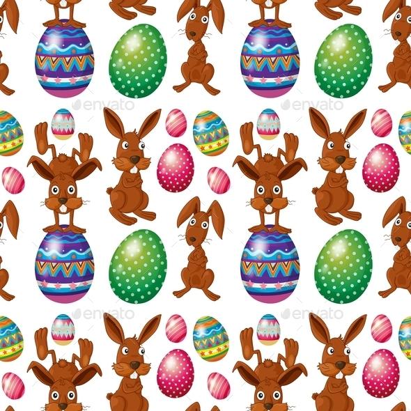Easter Seamless Design