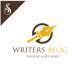 Writers Blog Logo - GraphicRiver Item for Sale