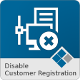 Medma Disable Customer Registration - CodeCanyon Item for Sale
