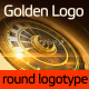 Gold Round Logo - VideoHive Item for Sale