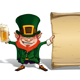St Patrick - Holding a Papyrus - GraphicRiver Item for Sale