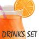 Drinks Set - GraphicRiver Item for Sale