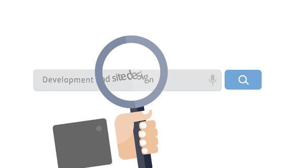 Flat Web Designer Promo