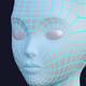Female Demon Head - 3DOcean Item for Sale