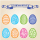55 Hand Drawn Easter Eggs - GraphicRiver Item for Sale