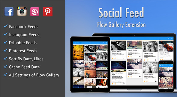 Social Feed - Flow Gallery Exension Download