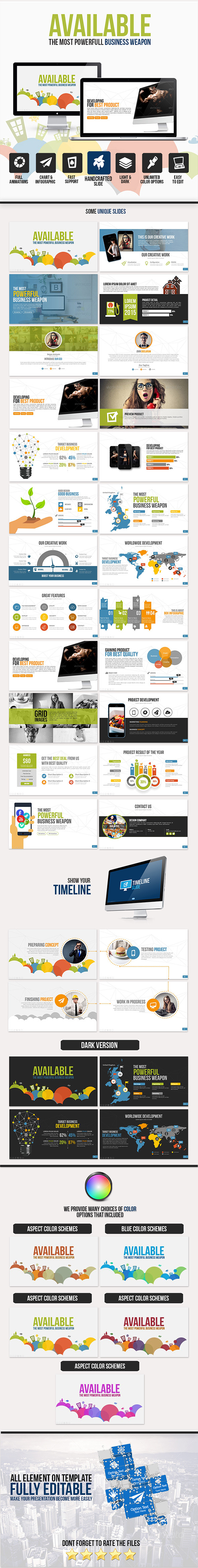 Available PowerPoint Template
