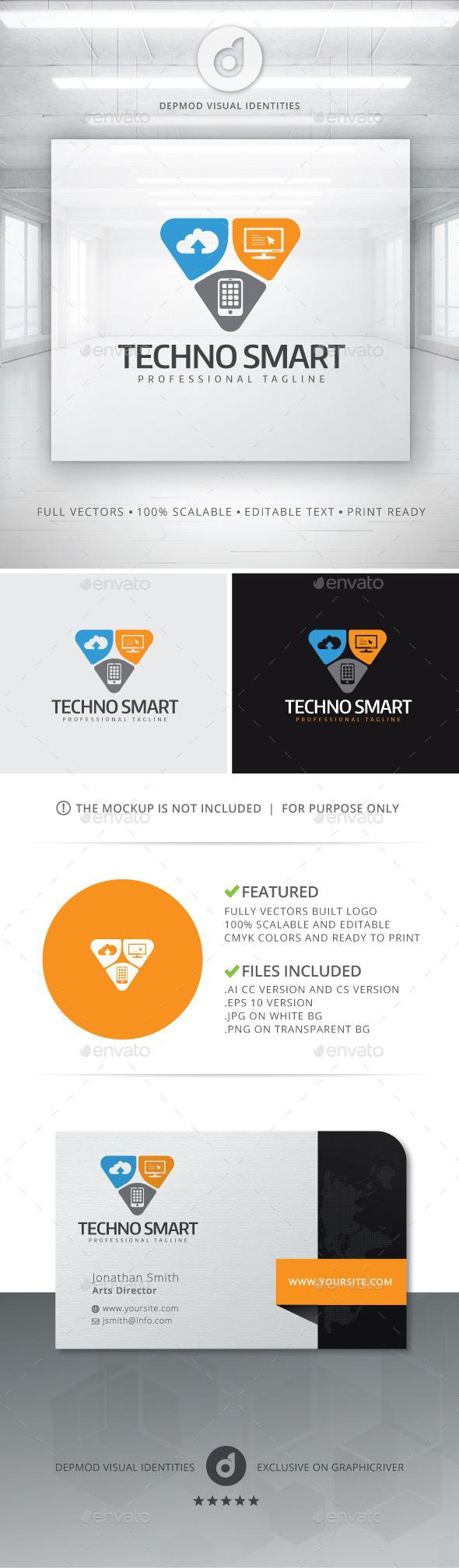 Techno Smart Logo