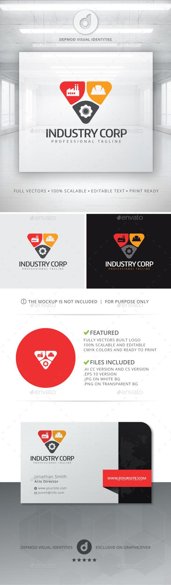 Industry Corp Logo