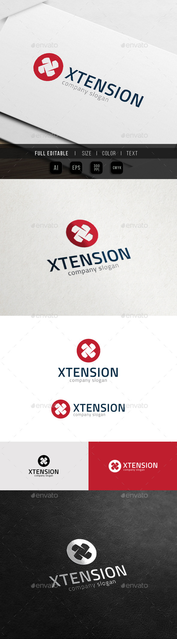 Extreme Game - Extension - Letter X Logo