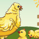 High Detailed Vector Chicken Flock - GraphicRiver Item for Sale