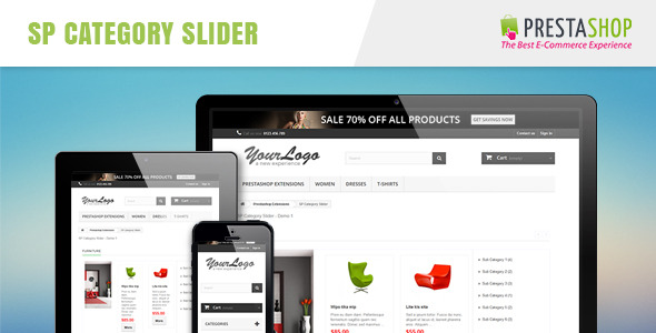 SP Category Slider - Responsive Prestashop Module