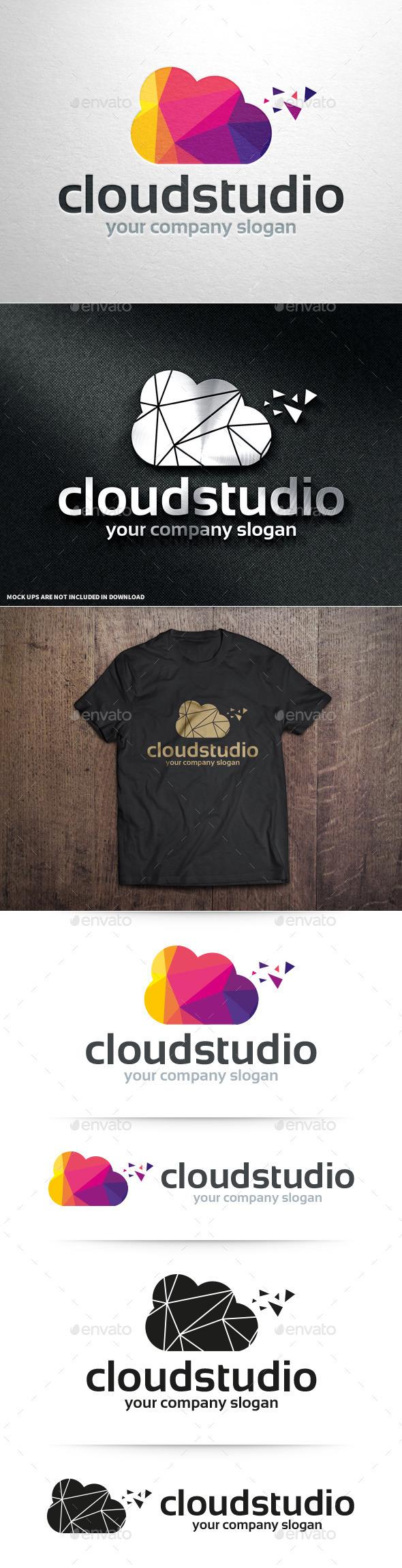 Cloud Studio Logo Template