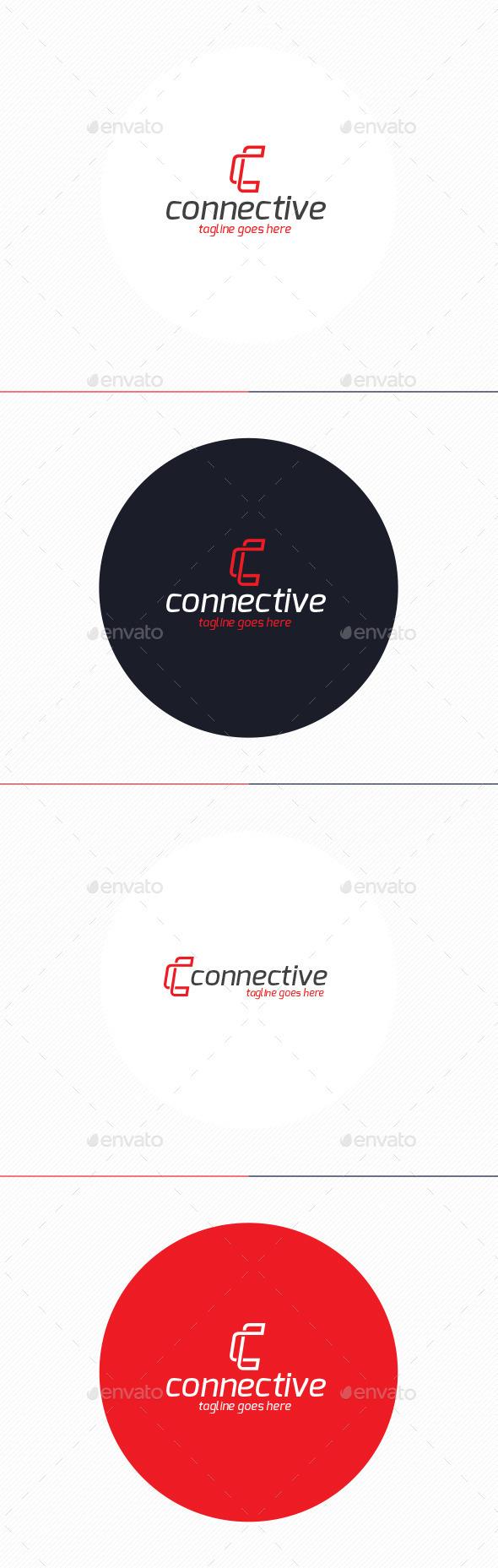 Connective Logo • Letter C