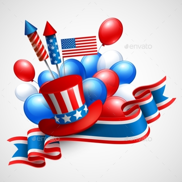 Independence Day holiday Symbols