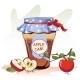 Jam Jar Apple  - GraphicRiver Item for Sale