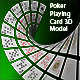Poker Playing card 3D Model - 3DOcean Item for Sale