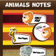 Animals Notes - GraphicRiver Item for Sale