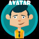 Avatar Creation Kit Male - GraphicRiver Item for Sale