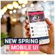 Slade New Spring Mobile UI App Design - GraphicRiver Item for Sale