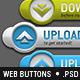 12 3D Web Buttons - GraphicRiver Item for Sale