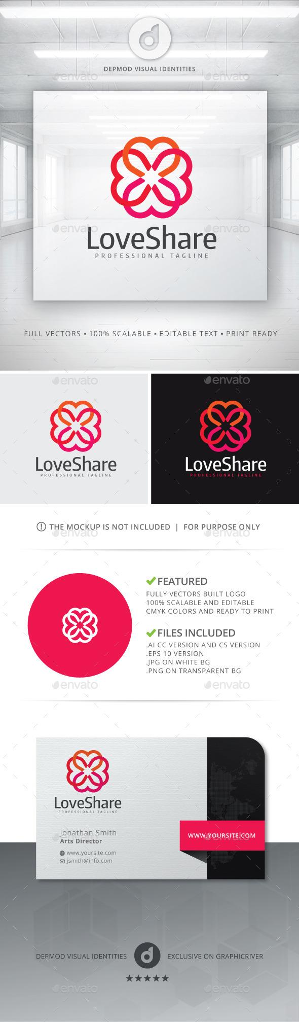 Love Share Logo