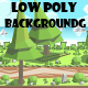 Low poly game background - GraphicRiver Item for Sale