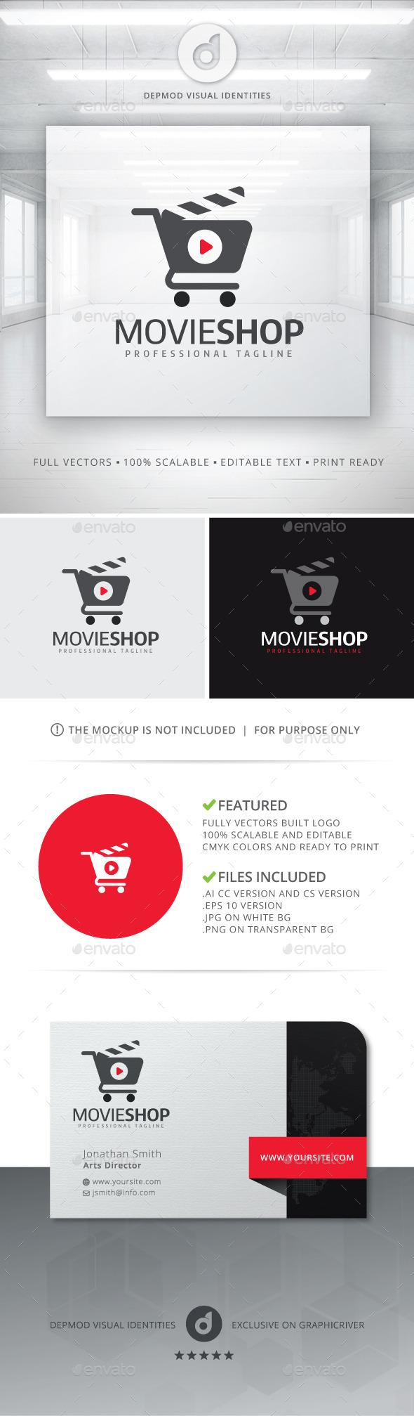 Movie Shop Logo