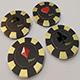 Casino Chip 3D Models - 3DOcean Item for Sale