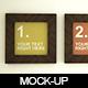 Frame Mockups - GraphicRiver Item for Sale