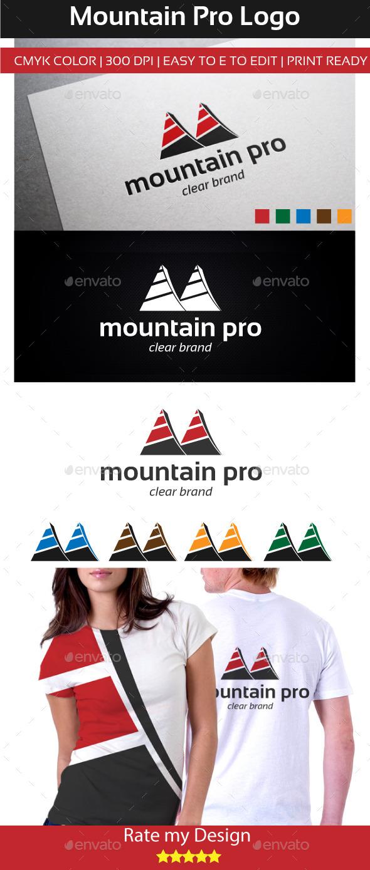 mountain pro Logo