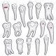 Teeth Characters - GraphicRiver Item for Sale