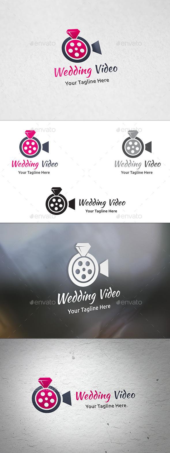 Wedding Video - Logo Template