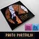 Photographer Portfolio / Album - GraphicRiver Item for Sale
