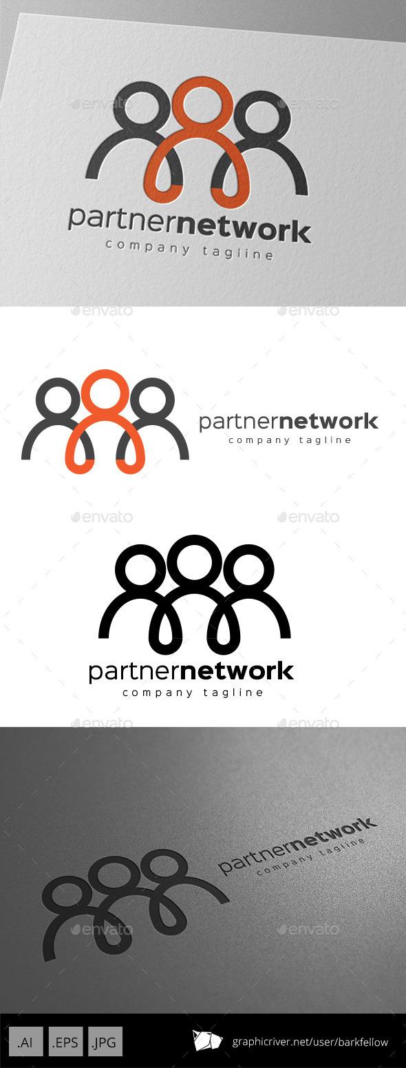 Partner Network Logo Design