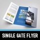 Metro Single Gate Flyer - GraphicRiver Item for Sale