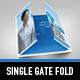 Futuristic Gate Fold Flyer - GraphicRiver Item for Sale