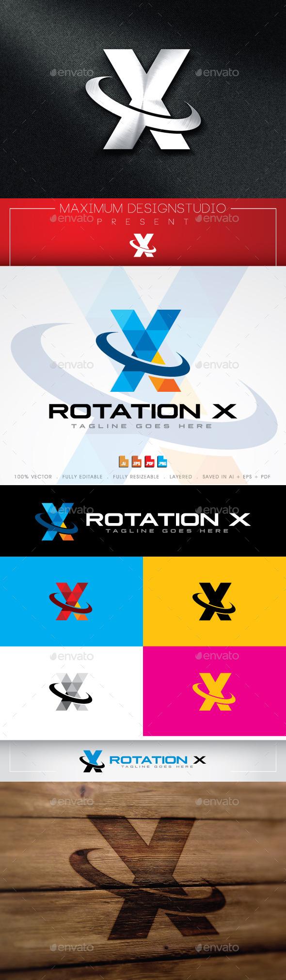 Rotation X Logo