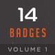 Badges & Labels Vol 1 - GraphicRiver Item for Sale